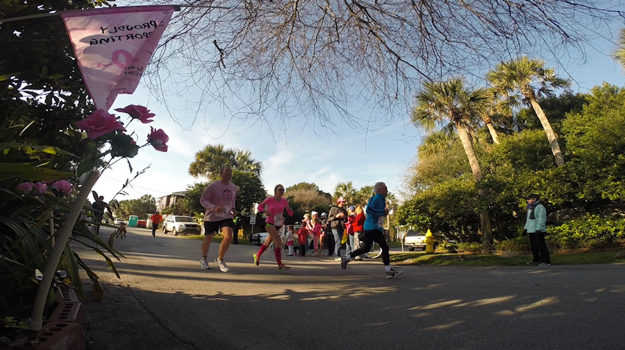 Jill Ross Runs Donna Marathon 2015